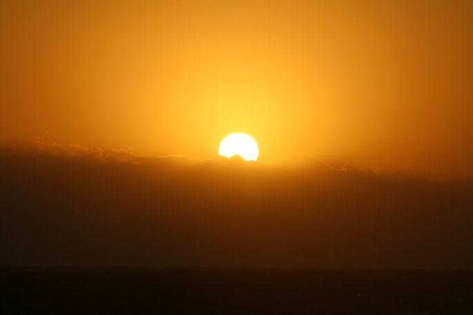 Estetika - zachód słońca